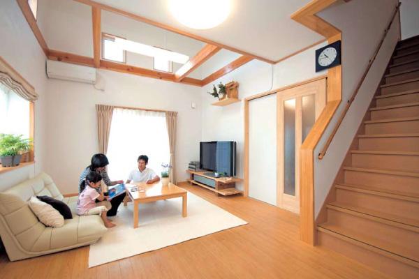住みやすさを追求したら高気密・高断熱自然素材を使った家
