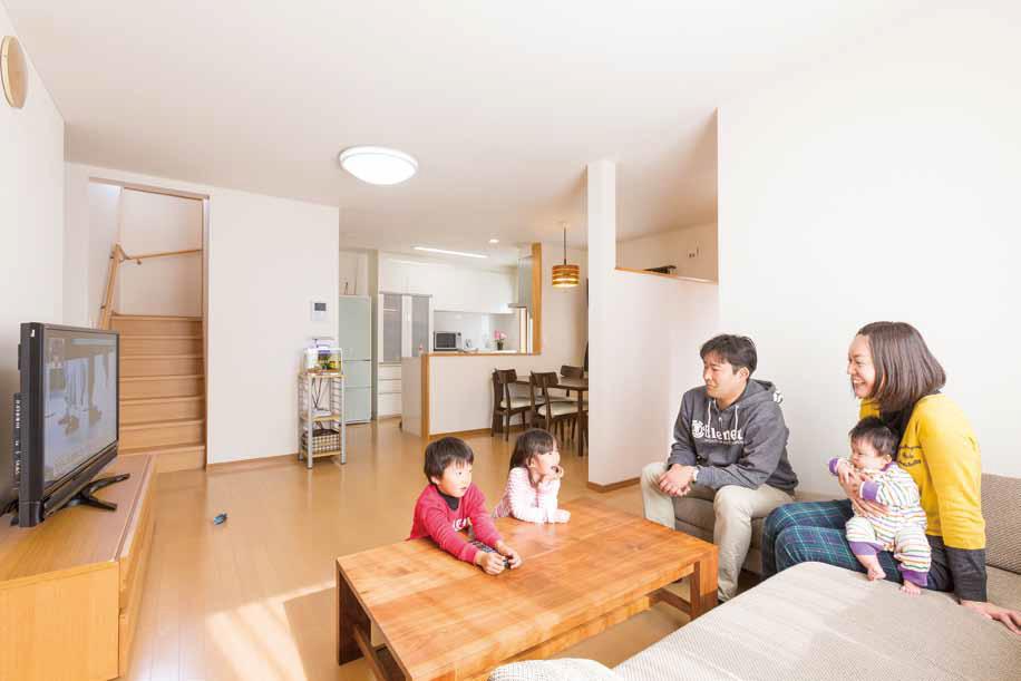 大切な家族を守る住まいは、強く、省エネで快適なFPの家。