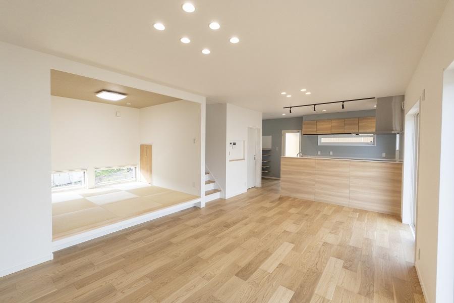 アイデア満載、多彩な和室使いで魅せる家