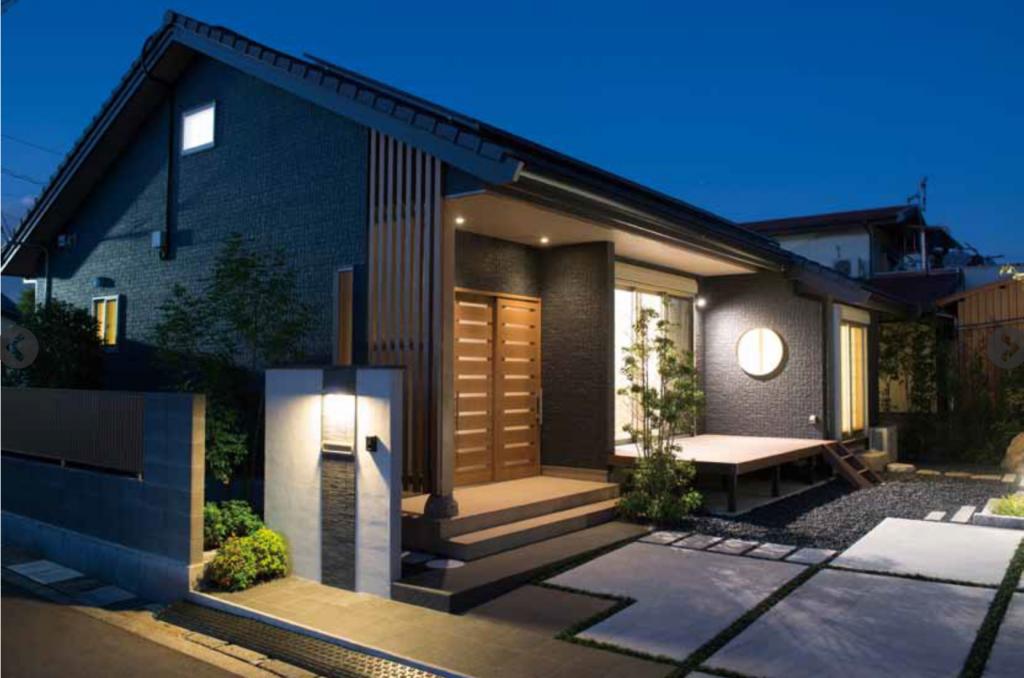 和庭園を眺める美しい平屋「康粋(こうすい)の家」